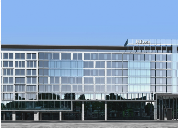 Belgrad, Hilton Hotel, in the city center with drilling depth restrictions (1 MW / 284.3 RT)