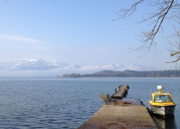 Chiemsee/Fraueninsel, private residence in an area with drilling depth restrictions (7 kW / 2 RT)