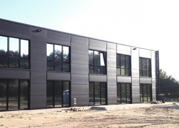 Kamp-Lintfort, new office building in an area with drilling depth restrictions (14 kW / 4 RT)